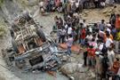 Hindistan'da otobüs kazası: 45 ölü