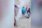 Dünyaca ünlü Navagio plajı çöktü dehşet anlar