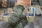 PKK'ya darbe! Mersin'de depoda bin 985 şemsiye bulundu