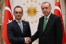 Erdoğan Beştepe'de Mass'ı kabul etti