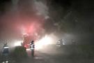 Karabük'te trafo merkezinde yangın: 3 ilçede elektrik kesildi