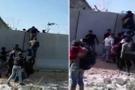 Türkiye Suriye sınırından şok görüntüler