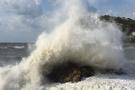 Şiddetli rüzgar nedeniyle dalga boyu 5 metreyi aştı!
