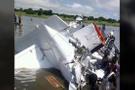 Sudan'da yolcu uçağı düştü! 3 kişi mucize eseri kurtuldu...