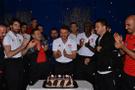 Sivasspor kampta 2 futbolcunun doğum gününü kutladı