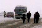 Sivas-Malatya karayolu kapandı