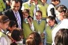 Öğrencilere 6 bin paket süt dağıtıldı