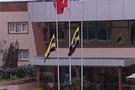 FB Cumhuriyeti'nde bayraklar yarıya indi