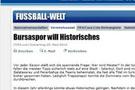 Bursaspor FİFA'nın manşetinde