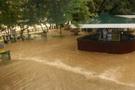 Aras taştı Gödekli sular altında kaldı