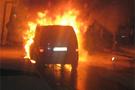 Erdoğan'ın mahallesini ateşe verdiler
