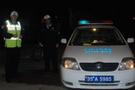 Belediye şoförü alkollü yakalandı