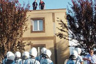 Deprem konutlarında icra protestosu