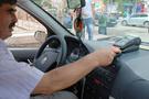 Tokat'ta taksilere pos cihazı konuldu