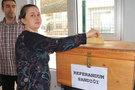 Sınır kapılarında referandum oylaması