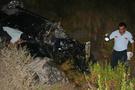 Otomobil 100 metreden uçtu: 1 ölü