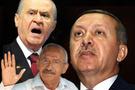 Erdoğan bağırdı polise laf ettirmedi!