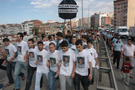 Gürcistan konsolosluğu önünde eylem