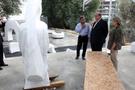 Bakırköy'de taşlar barış için yontuluyor