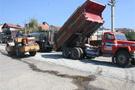 Van'da asfaltlama çalışması