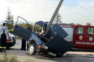 Konya'da dehşet verici kaza