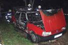 Polise kızınca otomobilini yaktı