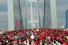 İstanbul'da maraton trafiğine dikkat!