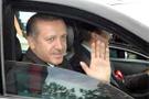 Erdoğanın korumaları cam kırdı