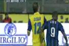 Eto'o Zidane'a özendi (video)