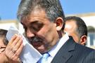 Abdullah Gül gözyaşlarına boğuldu!