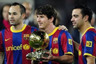 Messi yine döktürdü (video)