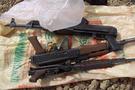 Nuseybin'de bir TIR dolusu silah