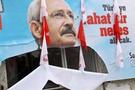 Kılıçdaroğlu'nun afişini parçaladılar