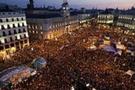 Madrid'in 'öfkelileri' sokaklardaydı