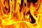 Hastane binası alev alev yandı