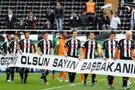 İnönü'de Erdoğan pankartı