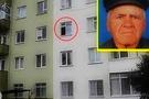 Pencereden tükürürken öldü