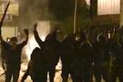PKK'lılar Atatürk posterini yaktı