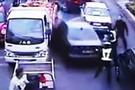 Ehliyetsiz sürücünün yaptığına bakın!