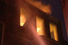 Uşak'ta yangın faciası