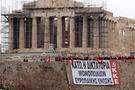 Protestolar Akropolis'e uzandı