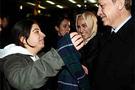 Genç kızın Erdoğan'dan ilginç isteği