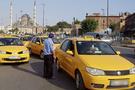 Taksiciler trafik cezalarına isyan etti