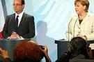 Merkel ile Hollande buluştu