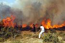 Bir yangın da Biga'da çıktı