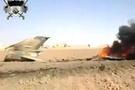 Suriye ordusuna ait jet düşürüldü