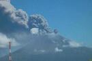 Nikaragua'daki yanardağ gaz püskürtüyor