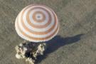 Soyuz uzay aracı yeryüzüne döndü