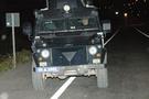 Zırhlı polis aracına bombalı saldırı!