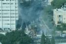 İsrail'de şiddetli patlama! FLAŞ